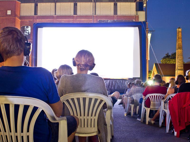 Open-Air Kino im Museum